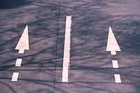 Arrow Road Marking