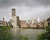Manhattan Från Roosevelt Island, 2006, Manhattan From Roosevelt Island