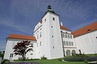 The palace of Ennsegg in the town of Enns Upper Austria