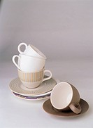 Coffee Cups with plates