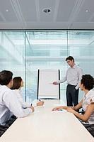 Man giving presentation
