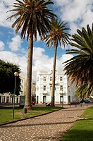 Horta on Faial island in the Azores