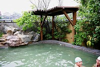 Hot spring resort, Beitou, Taiwan