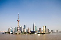 Skyline of Pudong, Shanghai, China