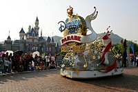 Disney on Parade, Hong Kong Disneyland Editorial use only
