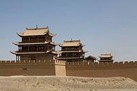 Jiayuguan Fort, Jiayuguan Great Wall, Gansu Province, China