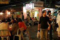 Seafood restaurant on Yung Shu Wan, Lamma Island, Hong Kong