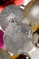 close_up of Christmas decorations