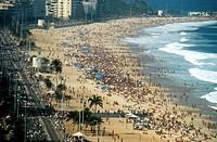 Beach, Ipanema, Rio de Janeiro, Brazil