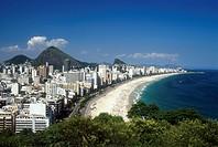 Beach, Leblon, Ipanema, Rio de Janeiro, Brazil