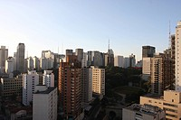 Buildings, Urban Landscape, S&#227;o Paulo, Brazil