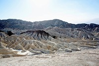 Rock formations, Death Valley, California, USA