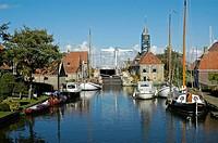 Hindeloopen, Ijsselmeer, Frisia, Netherlands