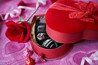 Romantic Box of Chocolates