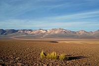 Der Cerro de Siete Colores (Berg der Sieben Farben), Hochland von Uyuni, Bolivien