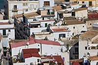 Houses in Eivissa, Ibiza, Baleares, Spain