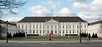 Bellevue Palace, primary residence of the German President, Berlin, Germany, Europe