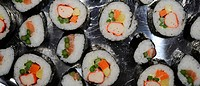 Futomaki and Temaki Sushi