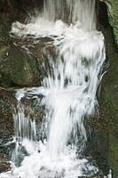 Waterfall, close-up