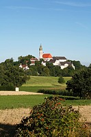 Andechs Abbey, Fuenfseenland, Upper Bavaria, Germany, Europe