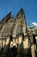 Prague Czech Republic, the Saint Vitus&#8217;s Cathedral