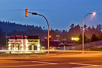 Highway 17, Saanich, British Columbia, Canada