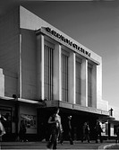 SURBITON RAILWAY STATION, SURBITON, UNITED KINGDOM, Architect J ROB SCOTT, 1937