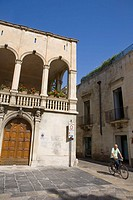 Old town, Lecce. Province of Lecce, Apulia, Italy