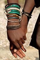 Mochimba ethnic group, Manaculama area, Parque do Iona, Namibe province, Angola