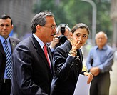 Ingrid Betancourt in Santiago, Chile (December 3, 2008)