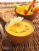 Yellow pepper soup (thumbnail)