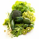 5 a day - green fruits and vegies (thumbnail)