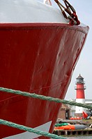 Red ship