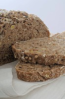 Natural wholemeal bread