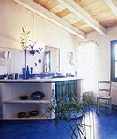 Mediterranean bathroom