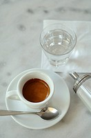 Espresso, tumbler and sugar dispenser