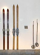 durmast wood ski 1935 and ash wood ski 1915