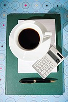 Coffee and calculator (thumbnail)