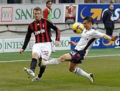 david beckham, milano 2009, serie a football championship 2008_2009, milan_cagliari