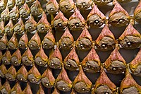 prosciutto di modena, ham factory, savignano sul panaro, emilia romagna, italy