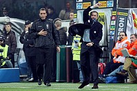 josè mourinho inter trainer, milano 2009, serie a football champiosnhip 2008_2009, inter_fiorentina