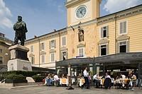 europe, italy, emilia romagna, parma, garibaldi square