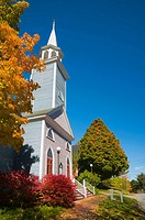 USA, Maine, Wiscasset, St Philips Episcopal Church