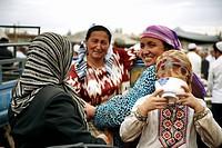 Livestock market, Kashgar, Xinjiang, China