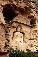Buddha at Bingling Si, Lanzhou, Gansu, China