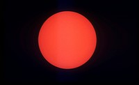 Annular Solar Eclipse, Uneclipsed Sun. El Paso, TX, 5/10/94. 1 of 18.