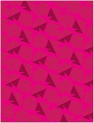 A magenta geometrical retro pattern