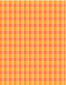 An orange checked pattern illustration