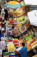 Covered market, Kazan, Republic of Tatarstan, Russia
