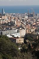 Tower Agbar - Sagrada Familia Antoni Gaudí- Barcelona - Spain